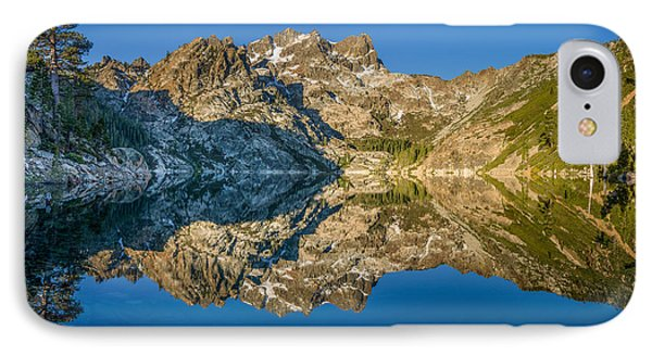 Upper Sardine Lake Panorama IPhone Case by Greg Nyquist