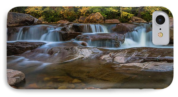 IPhone Case featuring the photograph Upper Swift River Falls In White Mountains New Hampshire by Ranjay Mitra