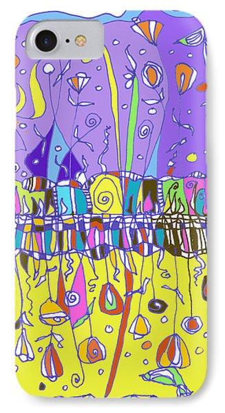 Upside Down Garden Phone Case by Linda Kay Thomas
