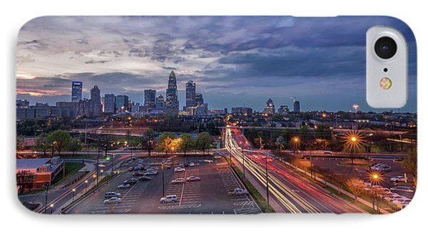 Uptown Charlotte Rush Hour IPhone Case