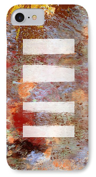 Urban Abstract- Art By Linda Woods IPhone Case