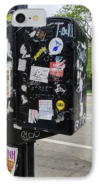 Urban Art Chicago IPhone Case