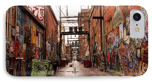 Urban Art IPhone Case by Theresa Willingham