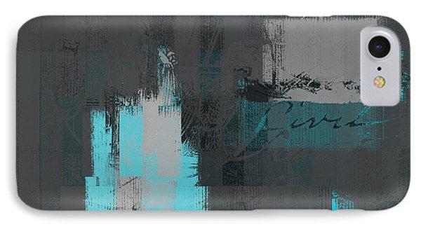 Urban Artan - S0111-turquoise IPhone Case
