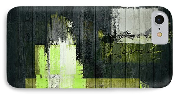 Urban Artan - S0112 - Green IPhone Case by Variance Collections