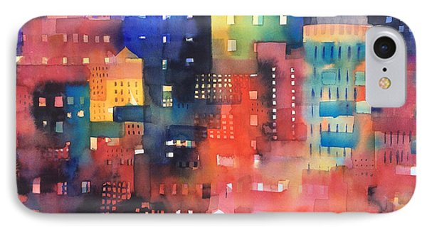 urban landscape 8 - Shadows and lights Phone Case by Alessandro Andreuccetti