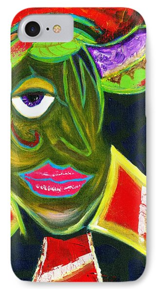Urban Mardi Gras Natural IPhone Case by L J Smith