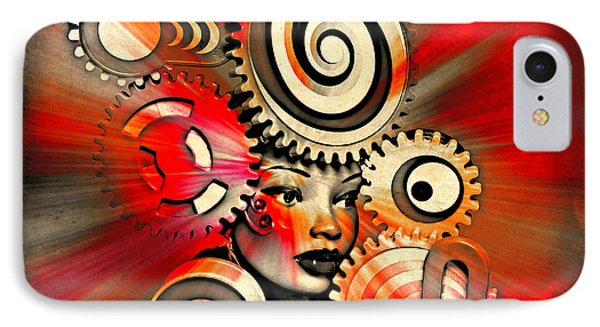 Urban Medusa IPhone Case by Jeff  Gettis