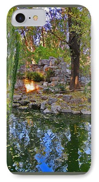 Urban Motifs. Chinese Pond. IPhone Case