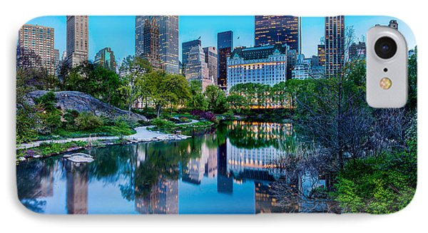 Urban Oasis IPhone Case by Az Jackson