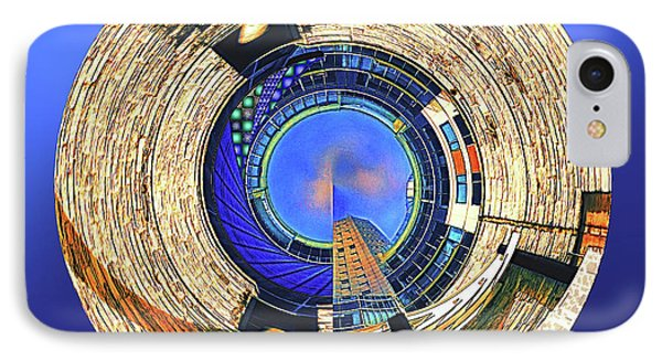 IPhone Case featuring the digital art Urban Order by Wendy J St Christopher