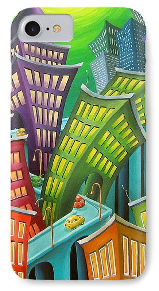 Urban Vertigo IPhone Case by Eva Folks