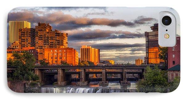 Urban Waterfall IPhone Case by Mark Papke