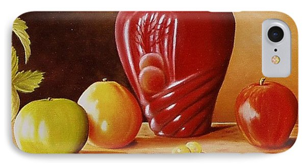 Urn An Apple IPhone Case by Gene Gregory
