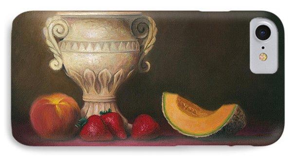 Urn With Fruit Phone Case by Joe Winkler
