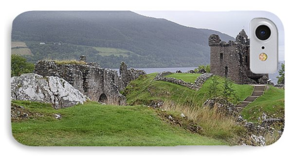 Urquhart Castle - Drumnadrochit IPhone Case by Amy Fearn