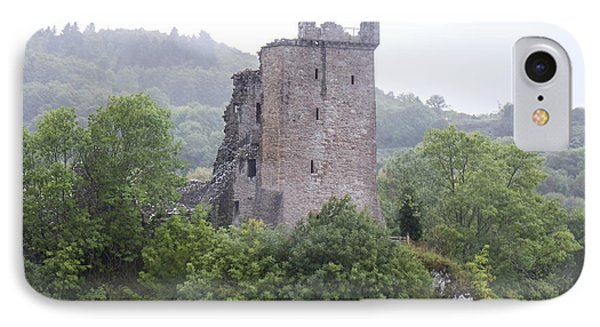 Urquhart Castle - Grant Tower IPhone Case by Amy Fearn