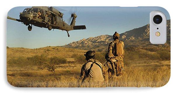 U.s. Air Force Pararescuemen Signal Phone Case by Stocktrek Images