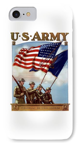 Us Army -- Guardian Of The Colors IPhone Case