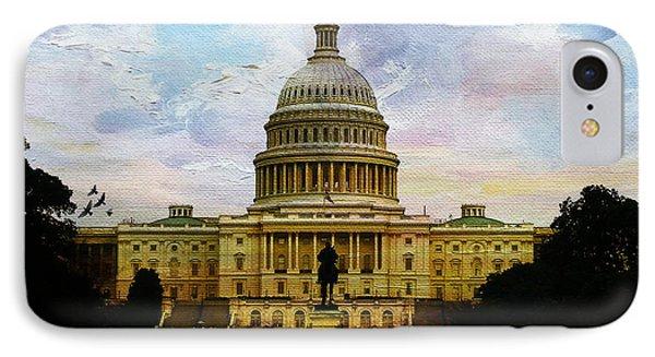 Capitol Building, Washington, D.c 007 IPhone Case