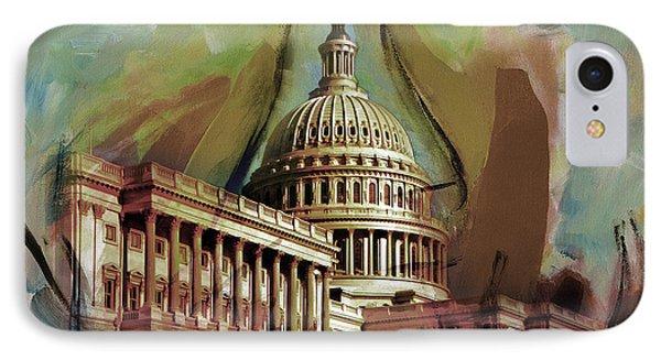 Capitol Building, Washington, D.c -006 IPhone Case
