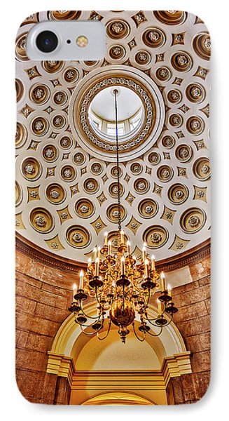 IPhone Case featuring the photograph Us Capitol Rotunda Washington Dc by Susan Candelario