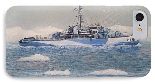 U.s. Coast Guard Cutter Eastwind IPhone Case by William H RaVell III