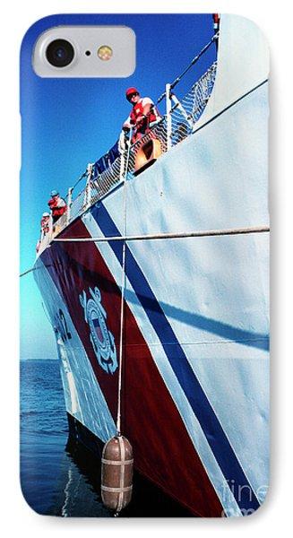 Us Coast Guard  Phone Case by Thomas R Fletcher
