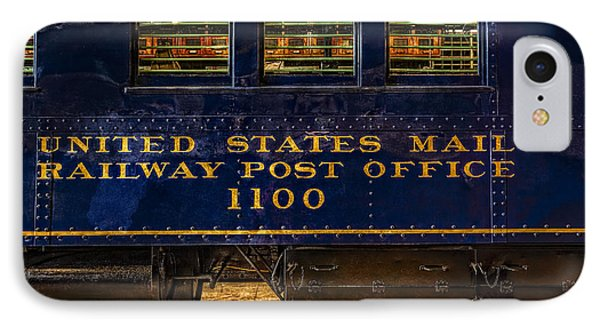 Us Mail Railway Post Office Train IPhone Case by Susan Candelario