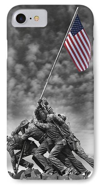 Us Marine Corps War Memorial IPhone Case by Mike McGlothlen