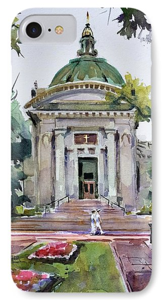 Us Naval Academy Chapel IPhone Case