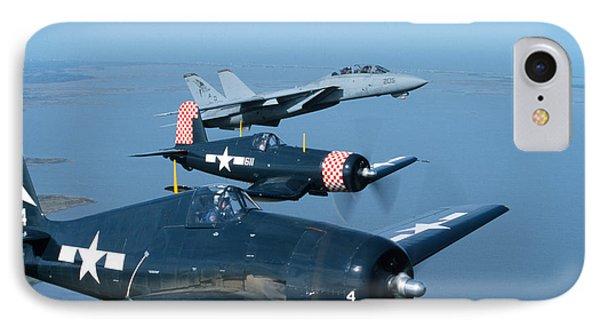 Us Navy Lagacy Flight  Phone Case by John Clark
