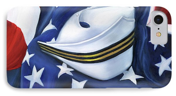 IPhone Case featuring the painting U.s. Navy Nurse Corps by Marlyn Boyd