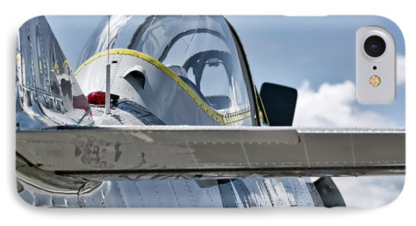 U.s. Navy T-28 Trojan  IPhone Case by Irwin Seidman