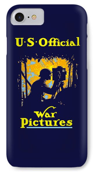 U.s. Official War Pictures IPhone Case by War Is Hell Store