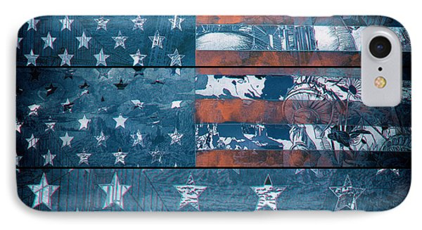 Usa Flag 8 IPhone Case