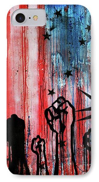 Usa Flag Yu7 IPhone Case