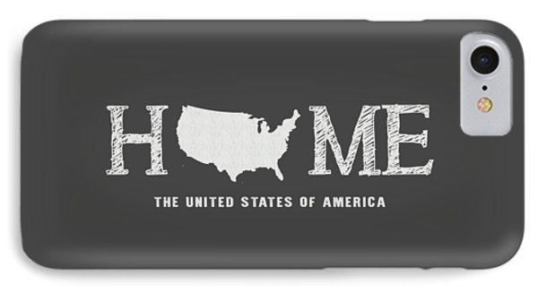 Usa Home IPhone Case by Nancy Ingersoll