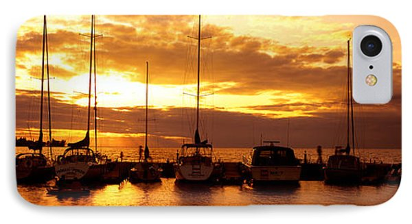 Usa, Wisconsin, Door County, Egg Harbor IPhone Case by Panoramic Images