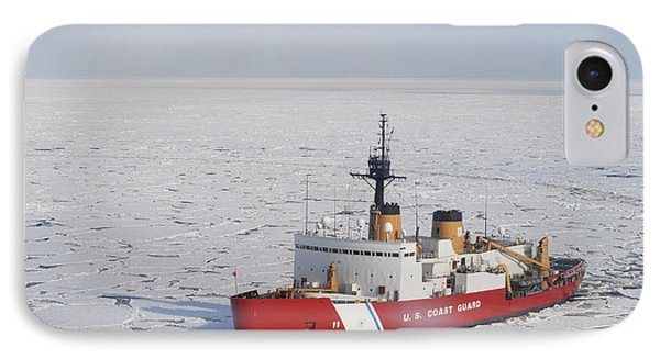 Uscgc Polar Sea Conducts A Research IPhone Case