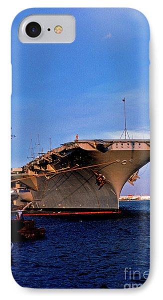Uss Forrestal Cv-59 Phone Case by Thomas R Fletcher