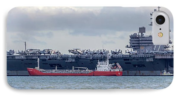Uss George H.w Bush. IPhone 7 Case