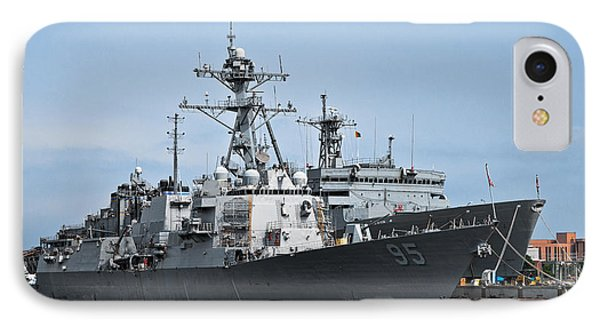 Uss James E. Williams Ddg-95 Phone Case by Christopher Holmes