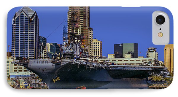 Uss Midway San Diego Ca Phone Case by Tommy Anderson