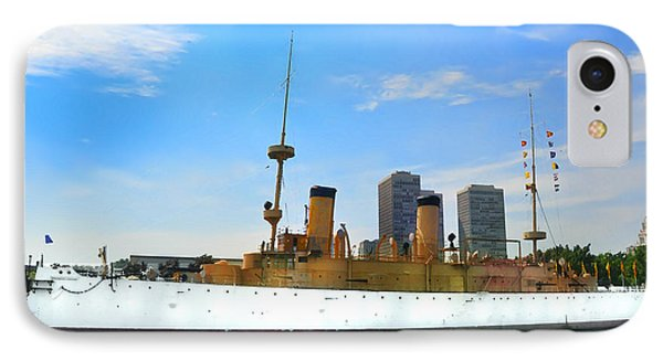 Uss Olympia Phone Case by Bill Cannon