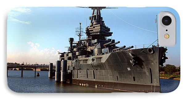 Uss Texas IPhone Case by Joshua House
