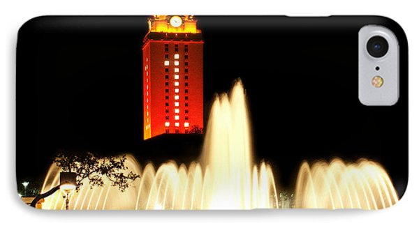 Ut Tower Championship Win IPhone Case by Marilyn Hunt