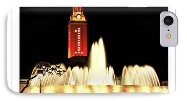 Ut Tower Poster IPhone Case by Marilyn Hunt