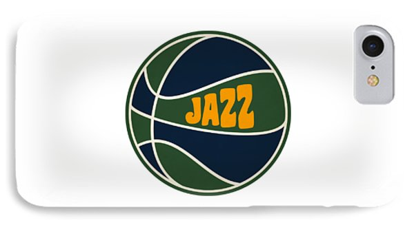 Utah Jazz Retro Shirt IPhone Case