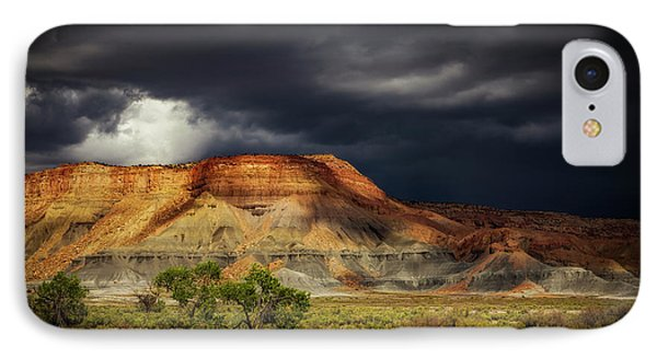 Utah Mountain With Storm Clouds IPhone Case by John A Rodriguez